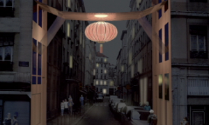 Arche quartier chinois